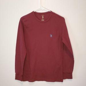 Polo Red Long Sleeve Sleepwear